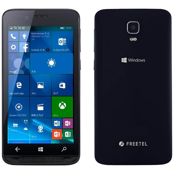 FREETEL KATANA01でWindows 10 Mobileを使ってみた。